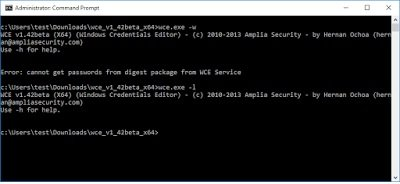 Extracting Hashes & Plaintext Passwords from Windows 10