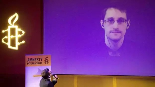 Edward Snowden has appeared by video-link at conferences around the world