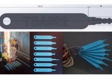 3D printer blueprints for TSA luggage-unlocking master keys leak online