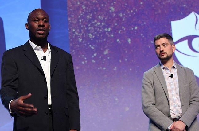 Emmanuel Jean-Georges (left) and Barry Vengerik.