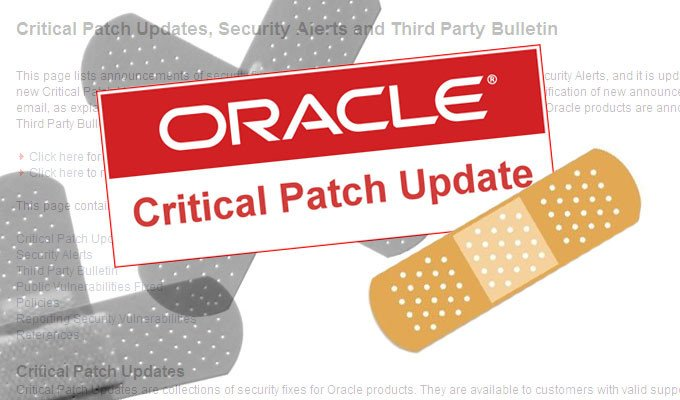 Oracle patch vulnerability
