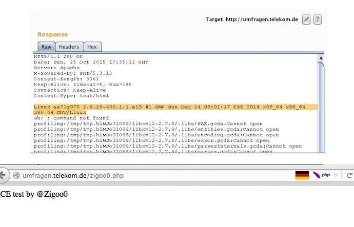 RCE Vulnerability Fully Compromises Deutsche Telekom Server