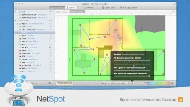NetSpot Maps Your Wi-Fi Network and Diagnoses Signal Problems for Free