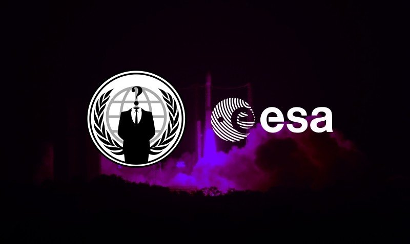 Anonymous Hacks European Space Agency Just for Fun