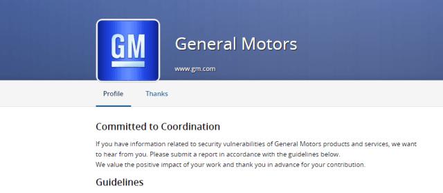 GM embraces white-hat hackers with public vulnerability disclosure program