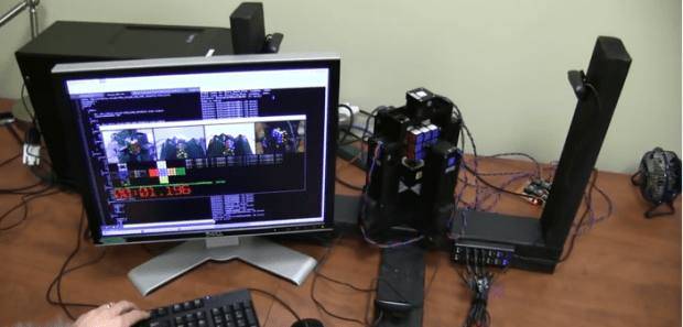 This Robot Solves a Rubik's Cube In Less Than 2 Seconds Flat