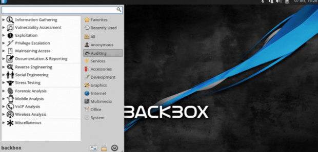 BackBox Linux 4.5 OS comes with pre-installed new hacking tools