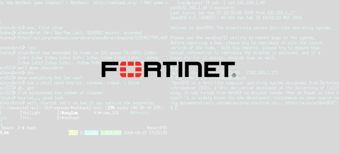 Chinese Group Trying to Exploit Old Fortinet SSH Backdoor