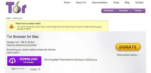 Tor Announces Official Release of Tor Browser 5.5 With New Features