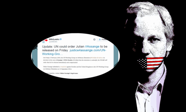 Wikileaks' Julian Assange could be a free man this Friday, Thanks to UN