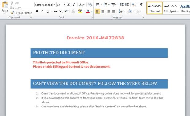 "Threat Alert: ""PowerWare,"" New Ransomware Written in PowerShell, Targets Organizations via Microsoft Word"