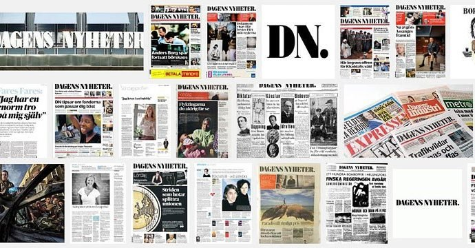 Hackers brought down the websites of principal Swedish Newspapers