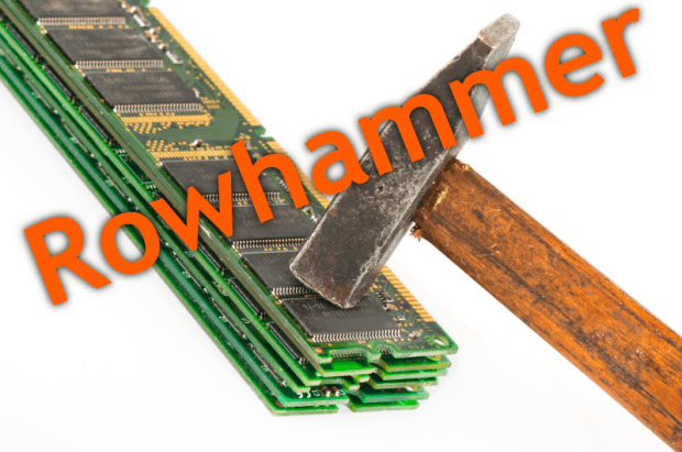 "Once thought safe, DDR4 memory shown to be vulnerable to ""Rowhammer"""