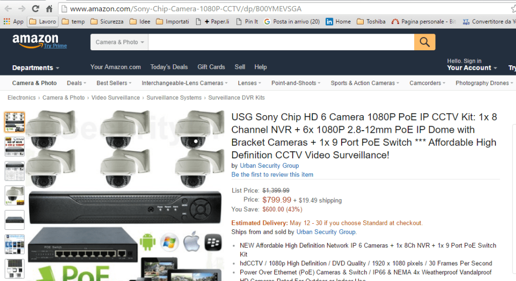 Be careful products sold on Amazon are infected with malware