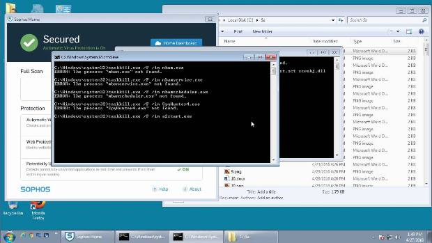 Regsvr32 can be used to install Ransomware through Jscript Installers