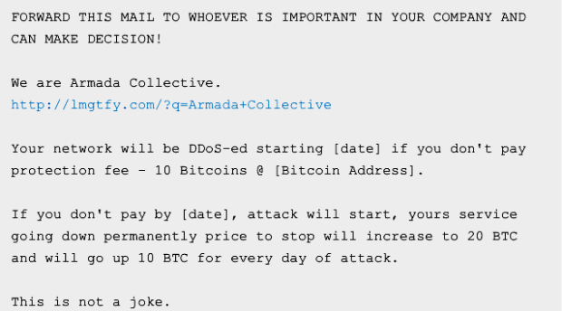 armada-collective-scam-email