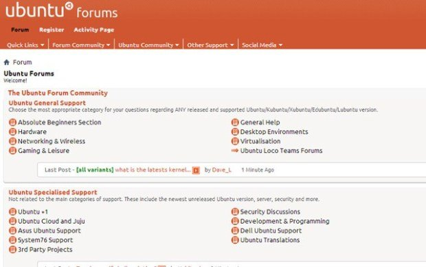 Ubuntu-online-forums-hacked