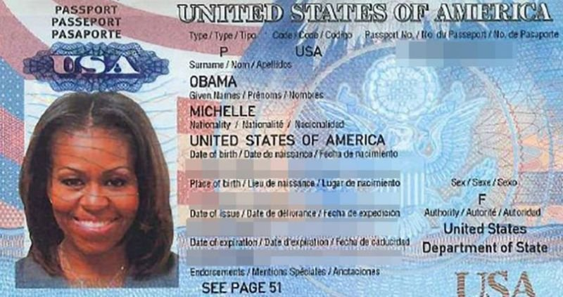 DC Leaks released the email of a White House staffer, revealing what they claim to be Michelle Obama's passport