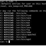 How to exploit SUDO via Linux Privilege Escalation