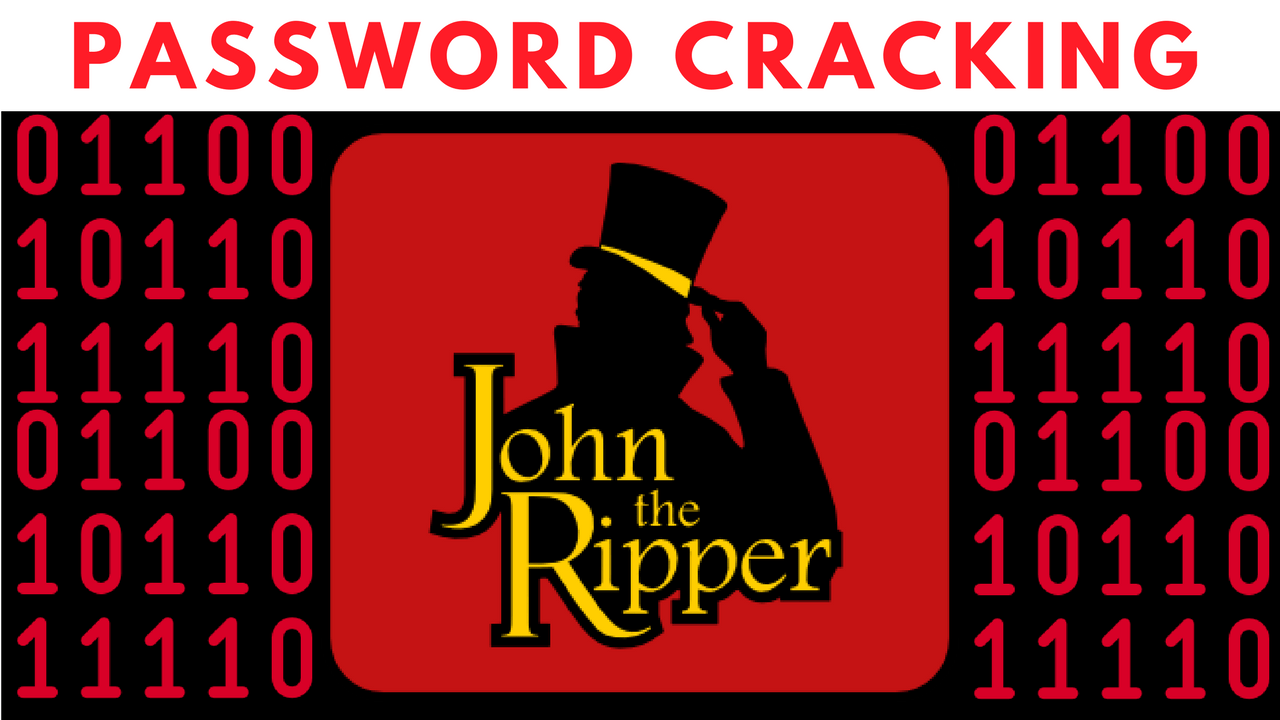 Crack Windows password with john the ripper