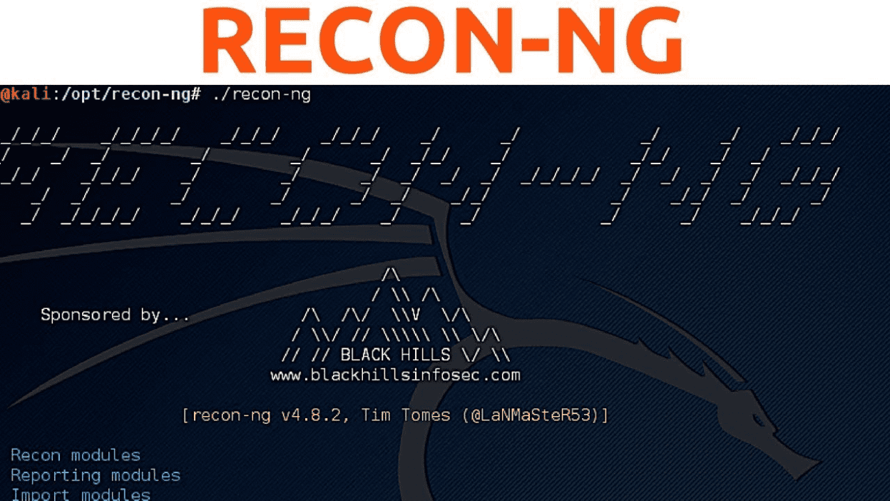 recon-ng – Good tool for Information Gathering  A handy tool