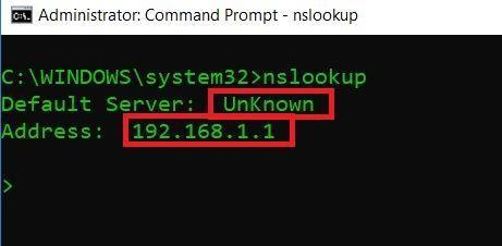 Use nslookup for footprinting  Gather information and analyze websites