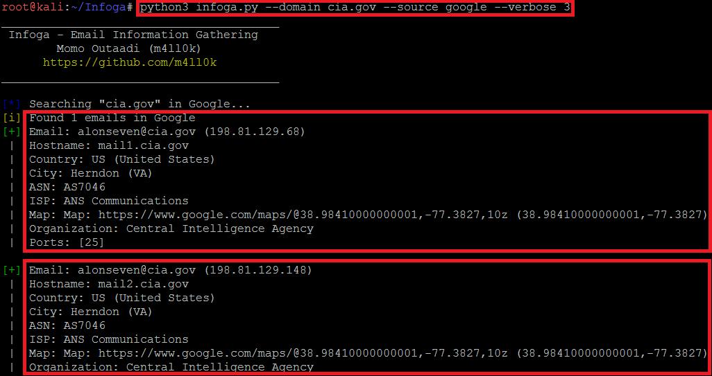 Github Kali Linux