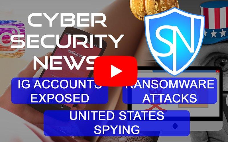 Top cyber security news|1 June 19