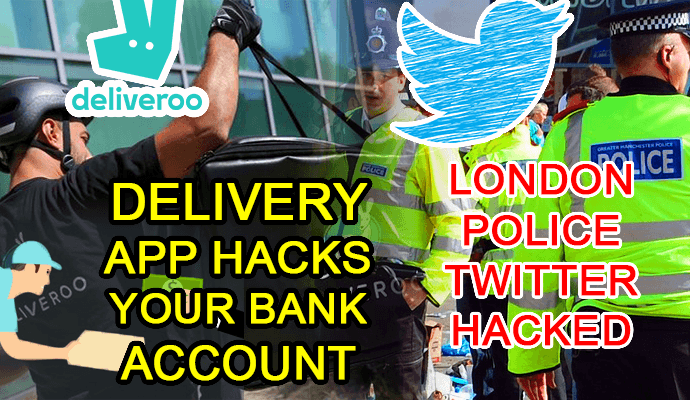 app deliveroo hack twitter account london police hacks