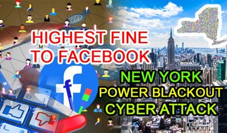 cyber security news fine facebook penalty fee ftc power blackout new york cyberattack