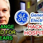 cyber security news julian assange spy general electric healthcare hack hacking