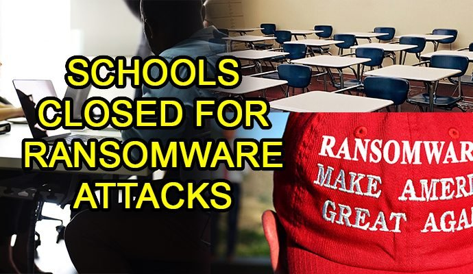 ransomware schools hacking hackers