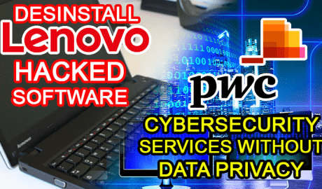 lenovo hack desinstall pwc cybersecurity data privacy
