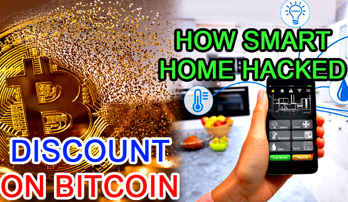 discount bitcoin fall smart home how to hack hacking hacked