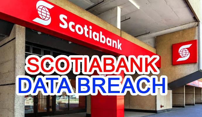 scotiabank hacked source code login credentials bank hack