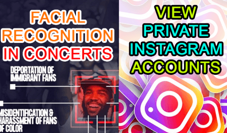 ticketmaster cameras facial recognition private instagram download pictures selfies bypass hack