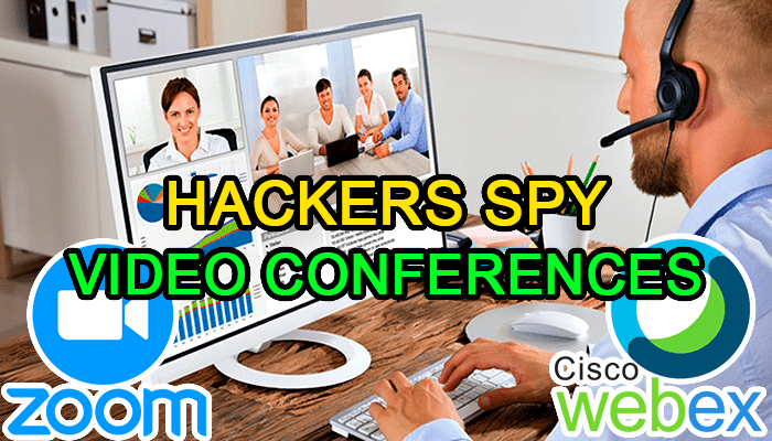 Vulnerability in WebEx and Zoom allows hackers to access their sessions