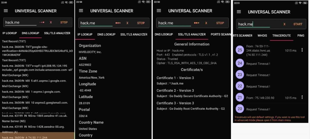 Network Manager - Universal Scanner