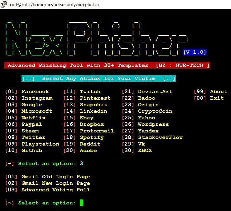 NexPhisher-Google