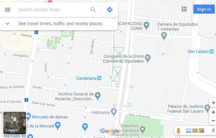 WinLocation - Map View