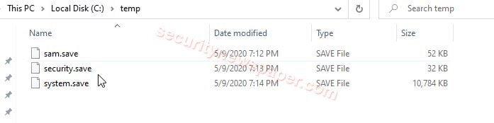 Temp Folder