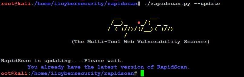 RapidScan - Update