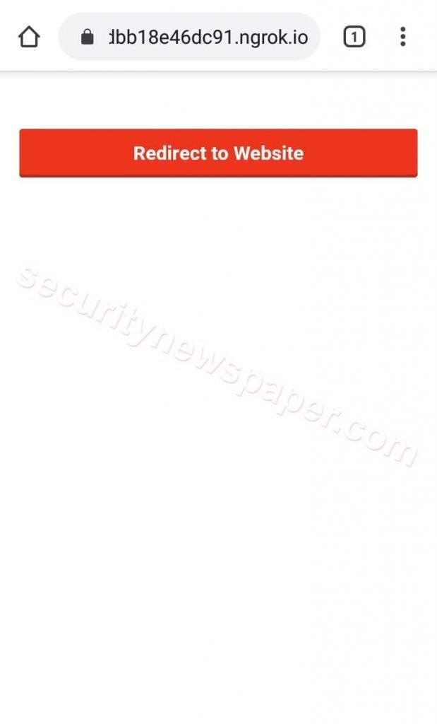 SayHello - Victim Opened Link