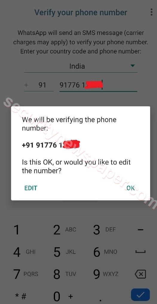 Victim's Number