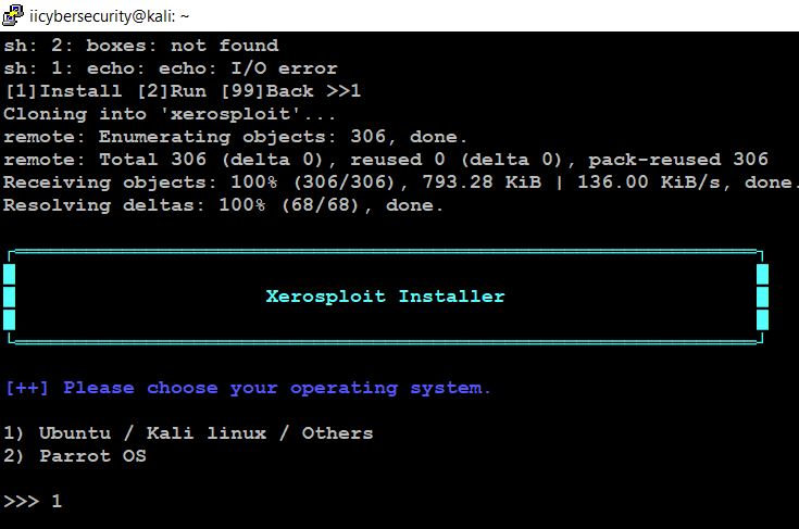 Hacking Tool - Information Gathering - Xerosploit Installer
