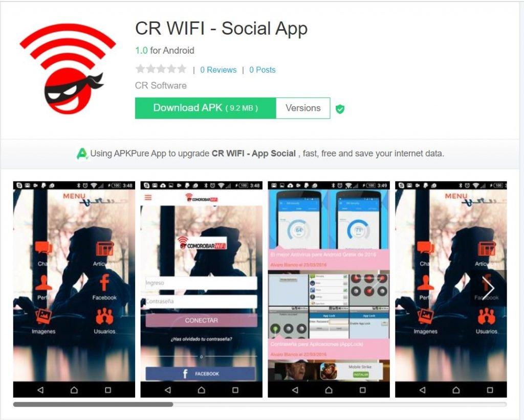 CR WIFI - Social APP