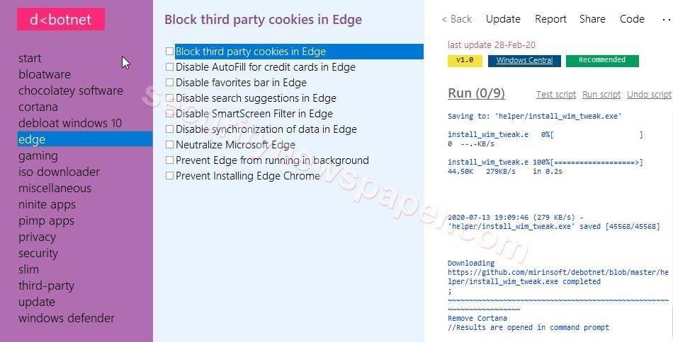 Debotnet - Edge
