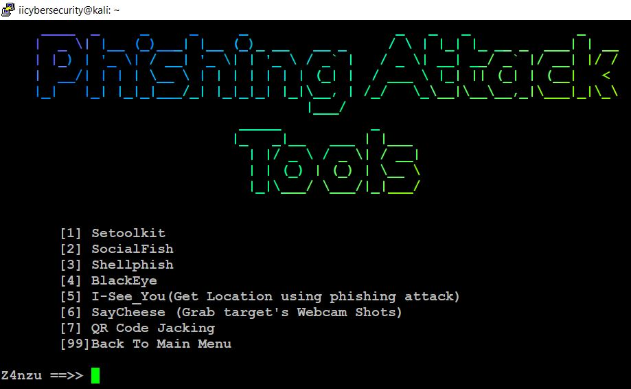 Hacking Tool - Phishing Attack Tools